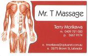 Mr.T Massage $50 Full Massage,  Trip Fee Free