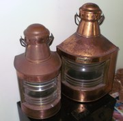 STYRBORD lanterns solid copper ship lanterns