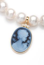Agate cameos jewellery
