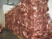 We supply quality copper scrap for our customers worldwide.