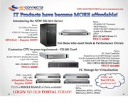 Affordable IT Products on Servers and Switches!