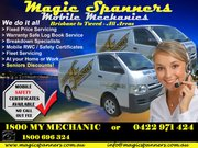 Find Mobile Mechanic in Brisbane - Magic Spanners