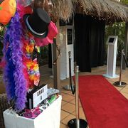 Life's a Flash photo booth hire in Gold Coast