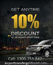 Get 10 % off on Airport Return Trips