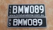 BMW Personalised Number Plates - Queensland