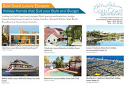 Gold Coast Luxury Escapes | Luxury Holidays Houses at Gold Coast