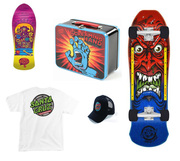 Santa Cruz Skateboards and products at Concrete Lines Australia