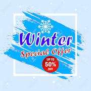 Special Winter offer for Wednesday